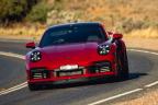 Porsche se chlubí časem elektromobilu z okruhu, skutečný rekord benzinového auta ignoruje - 1 - Porsche 911 Turbo 992 The Bend rekord 01