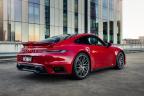 Porsche se chlubí časem elektromobilu z okruhu, skutečný rekord benzinového auta ignoruje - 4 - Porsche 911 Turbo 992 The Bend rekord 04